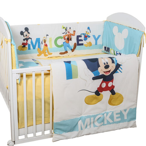 Posteljina ogradica za krevetac Mickey