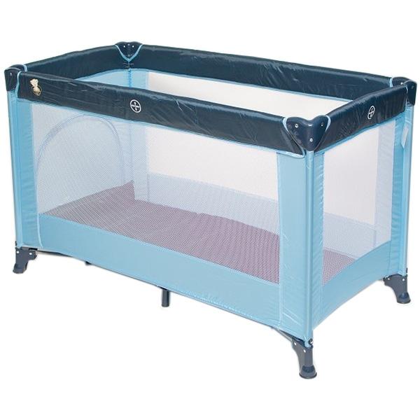 Prenosivi krevetac Dreamplay plavi