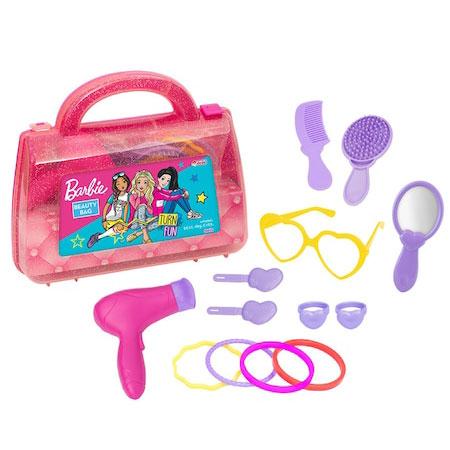 set za ulepsavanje u koferu barbie