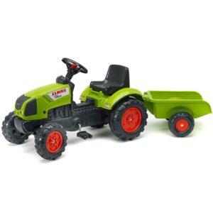 Zeleno crni traktor sa pedalama Falk 2040