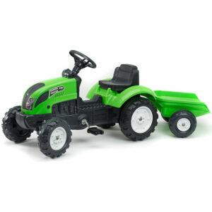 Zeleni traktor na pedale Grand Master
