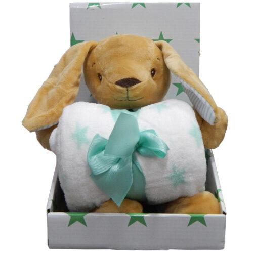 poklon set za bebe zeka zeleni