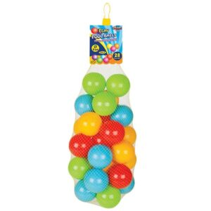 28 sarenih loptica za bebe pilsan
