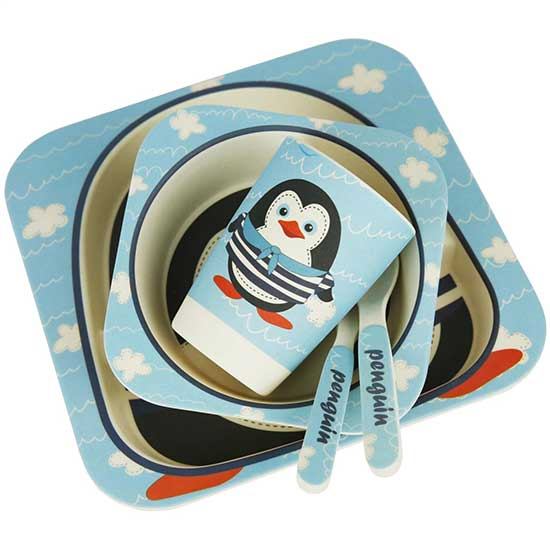 Pingvin set za hranjenje dece