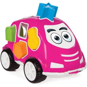 didakticki auto pilsan pink