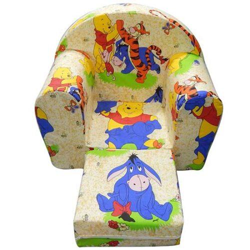 Foteljica za deci Soft Winnie 2