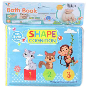 knjiga za kupanje beba shapes