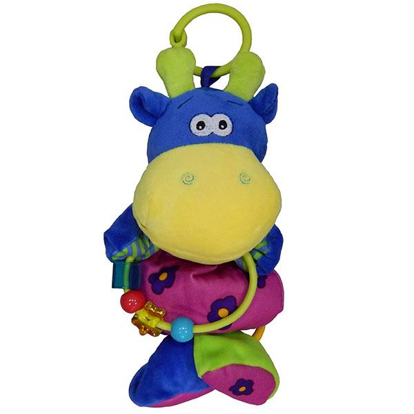 Sarena muzicka igracka za bebe nilski konj