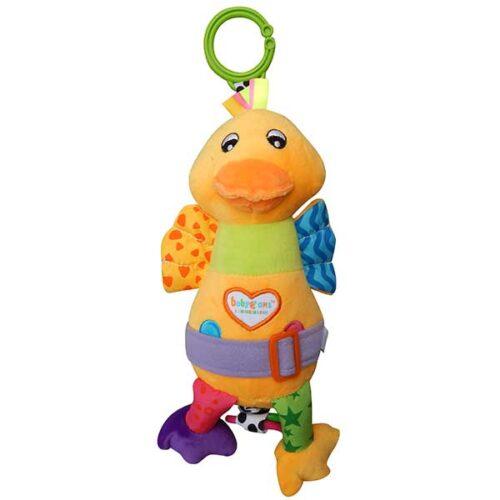 plisana muzicka igracka za bebe patka