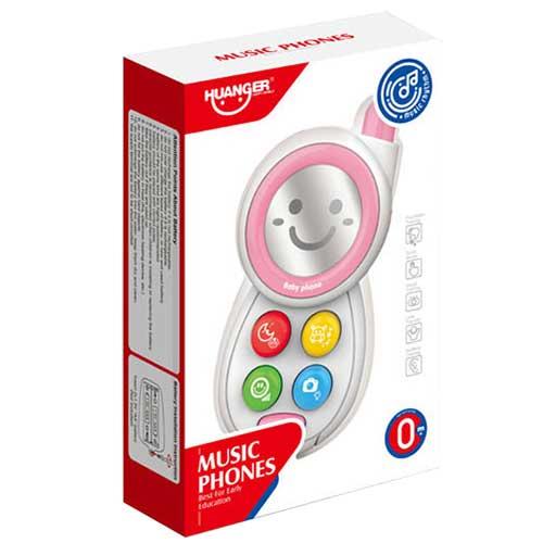 Telefon za bebe Smile roze 2