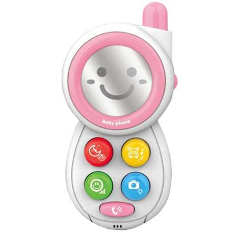 Telefon za bebe Smile roze