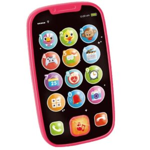Telefon za bebe Hola pink
