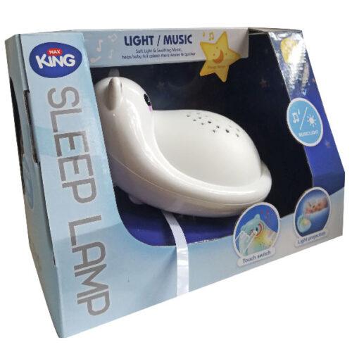 Nocna lampa projektor za bebe Max king