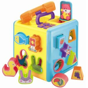 Didakticka kocka za bebe Redbox