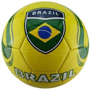 Lopta za fudbal motiv Brazil