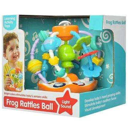 Lopta za bebe aktiviti Frog 2