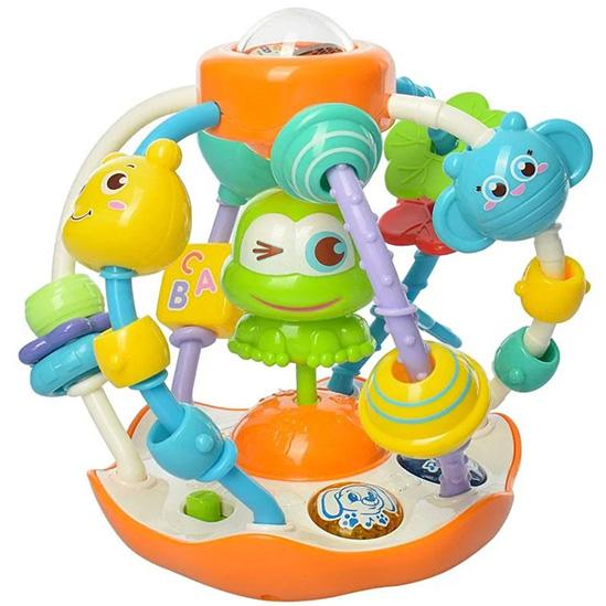 Lopta za bebe aktiviti Frog