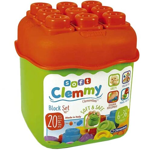 Gumene kocke za bebe Clemmy box
