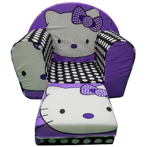 Foteljica za devojcice Hello kitty