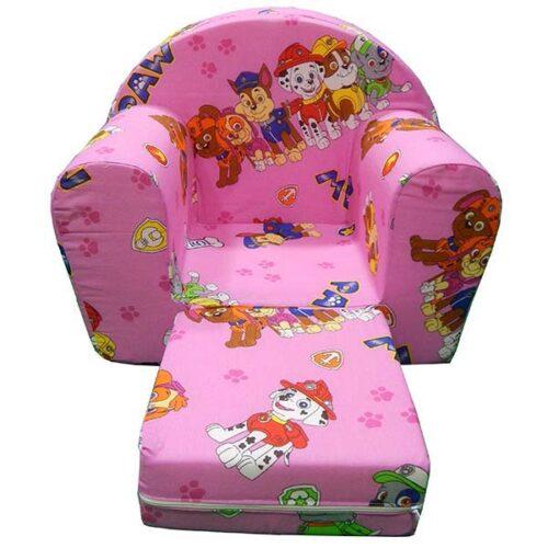 Patrolne sape roze foteljica