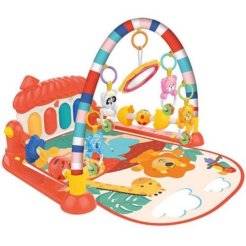 crvenapodloga za igru bebe huanger