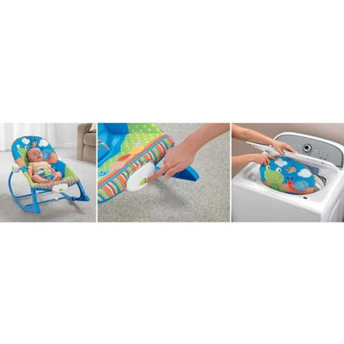 Ljuljaska za bebe sa vibracijom Frogy 3