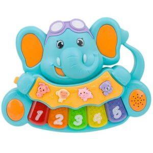 Bebi muzicka igracka Slonce plavo