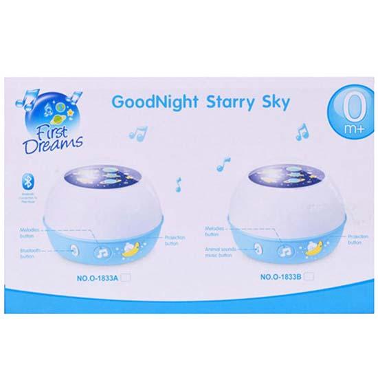 Projektor za sobu Good night plavi