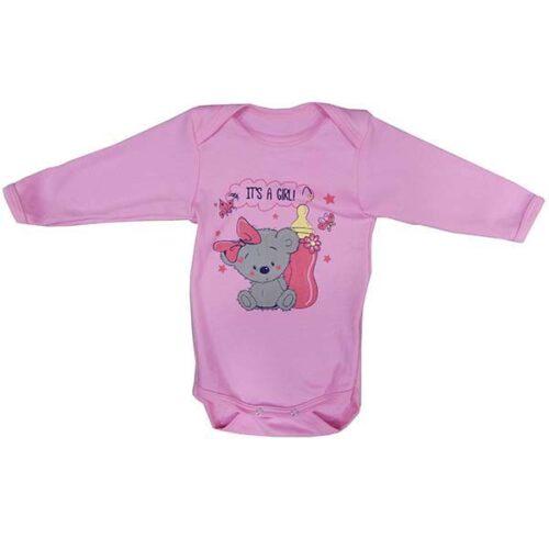 Roze bodic za devojcice 2617