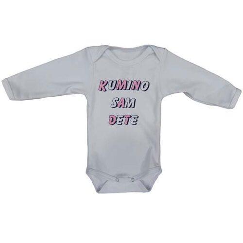 Bodic sa natpisom Kumino dete