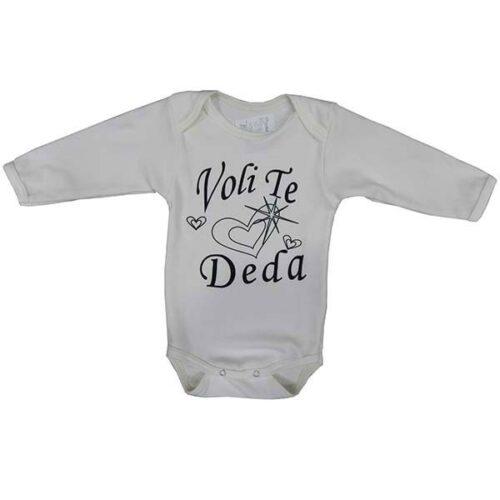 Bodic za bebe sa natpisom o dedi