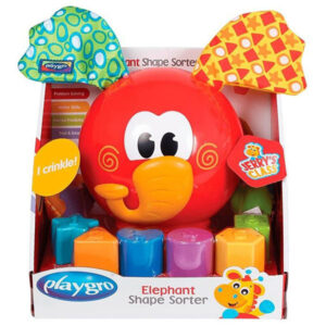 Crveni slon sorter Playgro