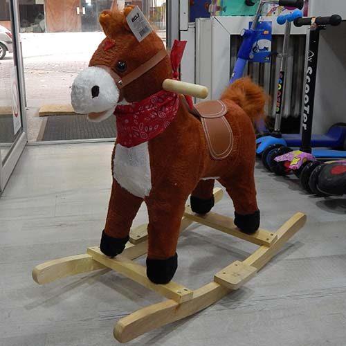Drveni konj klackalica Brown