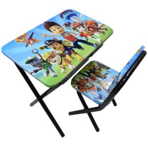Plavi sto i stolica za decu Patrolne sape