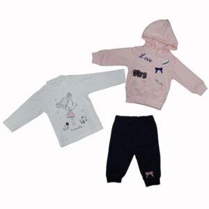 Trenerka i bodi majica za bebe 3243