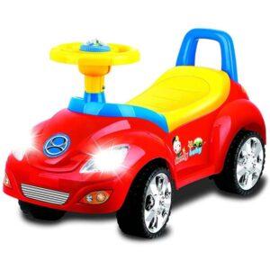 Crvena guralica auto za decu