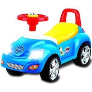 Plava guralica auto za decu