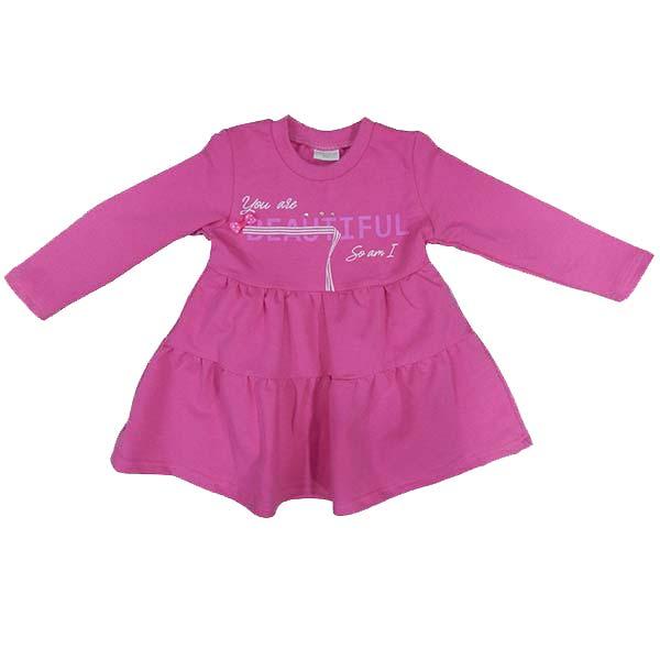 Haljina za bebe na dug rukav 4042