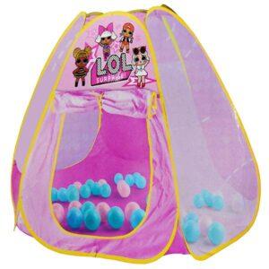Roze sator za decu LOL lutkice