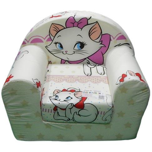 Foteljica za decu maca Marie