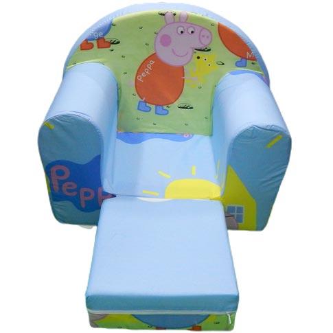Sundjerasta foteljica Pepa prase