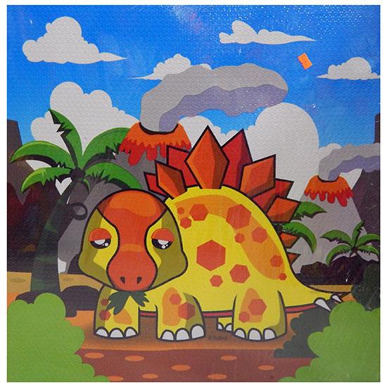 Dinosaurus slagalica za pod