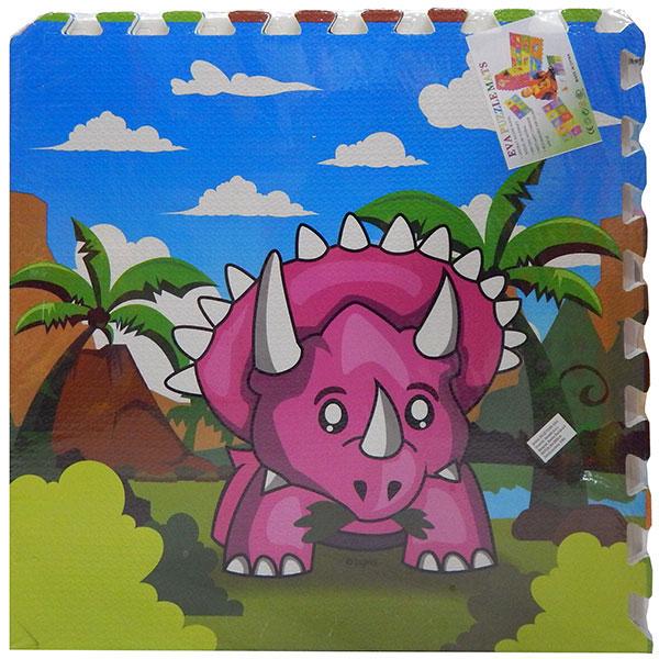 Podna slagalica za igru beba Dinosaurus
