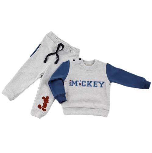 Mickey siva trenerka za decake 3258