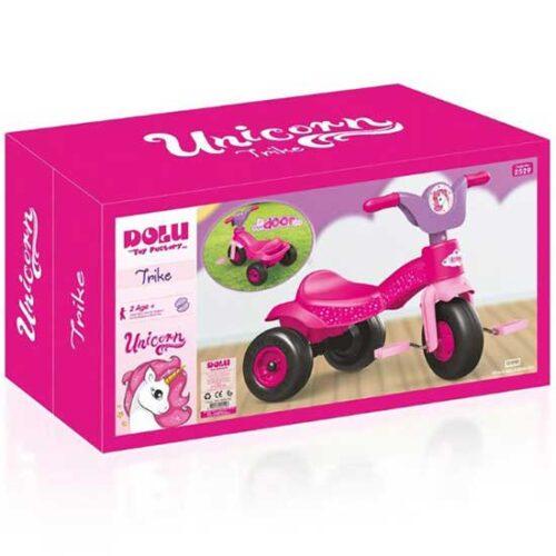 Deciji tricikl roze jednorog