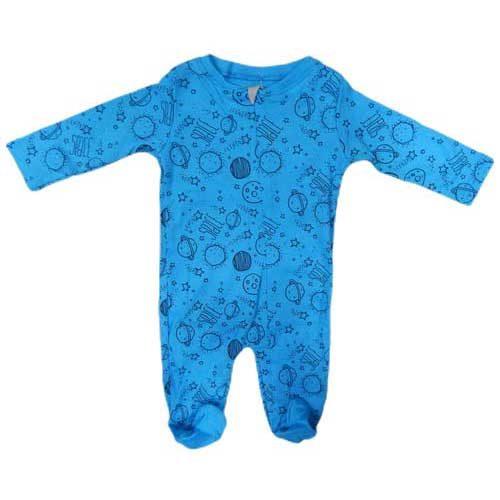 Plavo jednodelno odelo za bebe 5059
