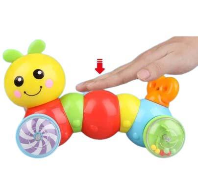 Vesela gusenica za bebe Digo