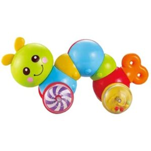 Sarena plasticna gusenica za bebe