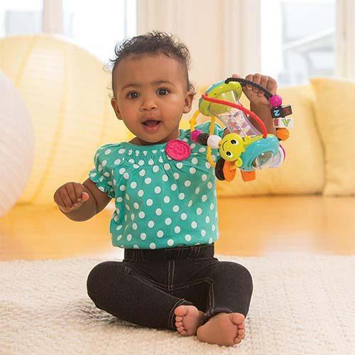 Sarena lopta za bebe Discovery