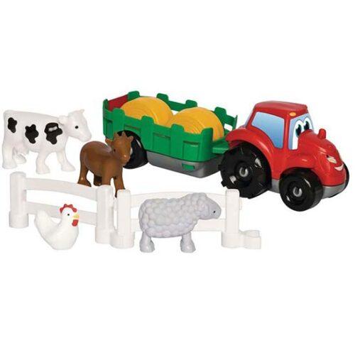Traktor i zivotinje Abrick